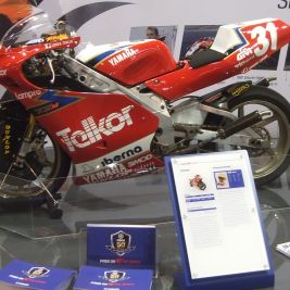 TZ250M on Yamaha Racing Stand