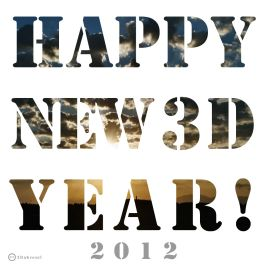 Happy New 3D Year !