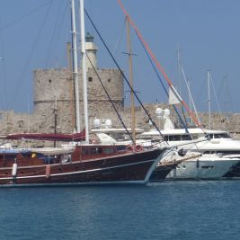 Rhodes Harbour July 2012