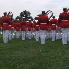 Marine Corps Sunset Parade