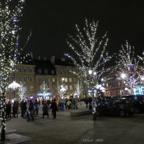 Christmas Holiday in Old Town (Warsaw)