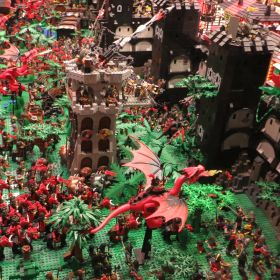 LEGO exhibition (part1), Warsaw 14-Feb 2015