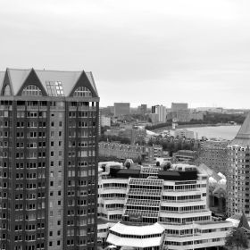 View from Laurenstoren Rotterdam 3d