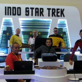 indo startrek at comic con 2016, JCC