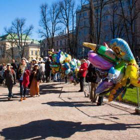 Vappu in Helsinki 2012