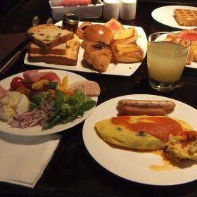 (temp) morning buffet @ Cascade, ANA Intercontinental Tokyo, 2012.08.30