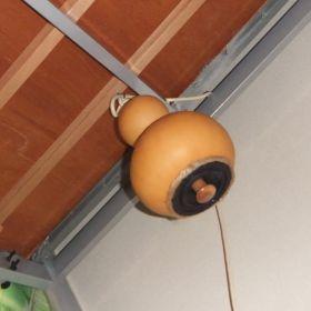 (temp) ひょうたんの灯りroom (Cosmic Plant Lamps) 2012.08.14