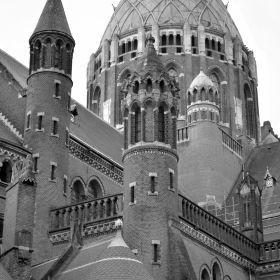 Kathedrale Basiliek Sint Bavo Haarlem 3D