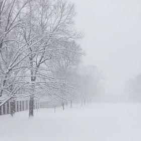 East Range in Snow
