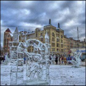 Ice Sculpture Viipuri Contest