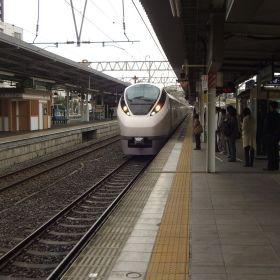 (temp) 2013.05.02 02.JR常磐線特急Freshひたち 水戸-上野