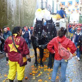 Carnevale squadre e battaglia