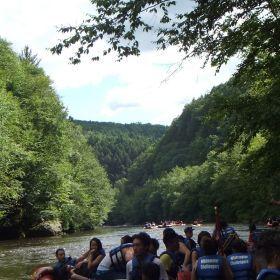 2014 - Lehigh, PA River Rafting