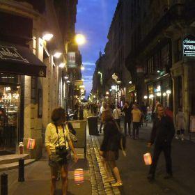 Bordeaux de noche