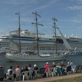 Hanse Sail 2015, Rostock / Warnemünde, HDC-Z10....