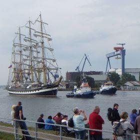 Hanse Sail 2015 Rostock / Warnemünde, mit Fuji-W3