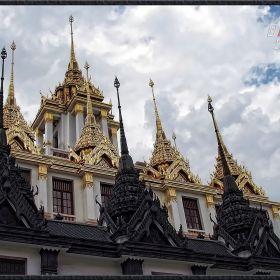 Loha Prasat of Wat Ratchanada
