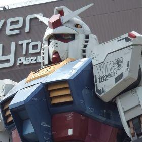 GUNDAM at Odaiba Diver City