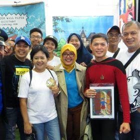 Komunitas Tintin Indonesia - Comic con JCC