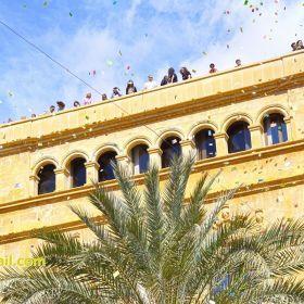 Aleluyas en el Domingo de Resurrección (Elche, Spain)