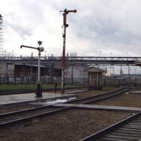 Podmoskovnaya. Steam locomotive roundhouse museum