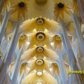 Sagrada Familia 2018, Gaudi (Barcelona),